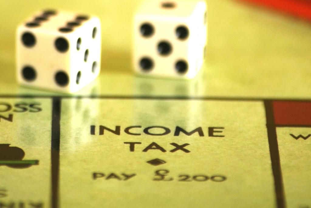 賭桌上的稅務收入(圖片來源:Alancleaver)