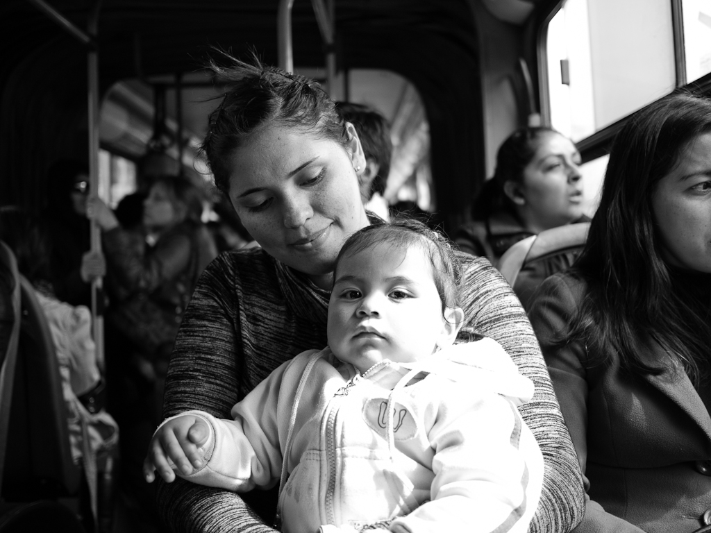 Mother and child (圖片來源: Francisco Osorio)..